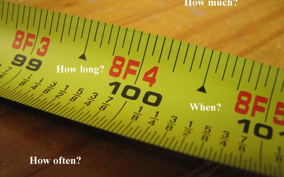 How Long is Your Yardstick – Reaching your goals